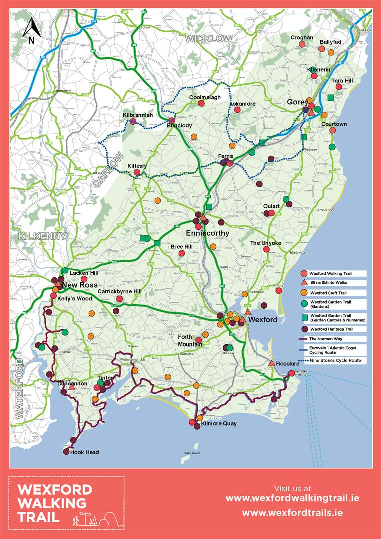Trails & Maps - Wexford Walking Trail on