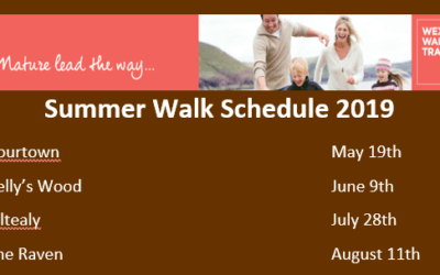 Summer Walk Schedule 2019
