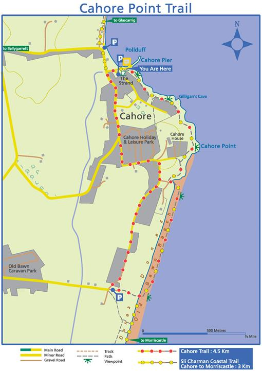 cahore point trail map